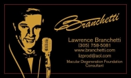 Lawrence Branchetti business card